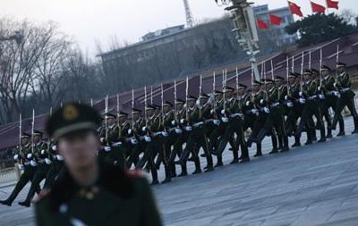 Китай объявил о намерении увеличить оборонный бюджет