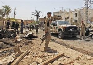 В Багдаде смертник взорвал центр приема новобранцев в армию: около 60 погибших