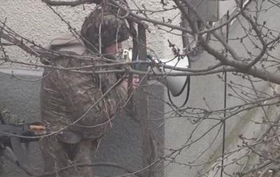 Полиция обнародовала видео с места взрыва, устроенного бойцом АТО