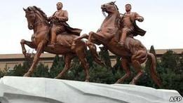 Гигантская статуя Ким Чен Ира открыта в КНДР
