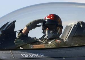 Турция: обломки сбитого истребителя найдены