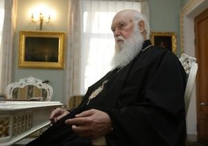 Филарет: Власть не препятствует деятельности УПЦ КП