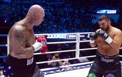 Чагаєв сенсаційно програв бій нокаутом Брауну, втративши титул WBA