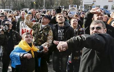Митинг под посольством РФ: в полиции уточнен ущерб