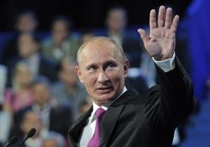 Путин стал первым зарегистрированным ЦИК кандидатом в президенты РФ