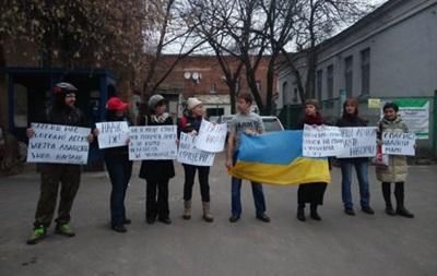 В Харькове у консульства РФ прошла акция в поддержку Савченко