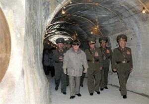 Северная Корея строит ядерный реактор на легкой воде