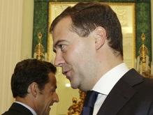 Саркози похвалил Медведева по телефону