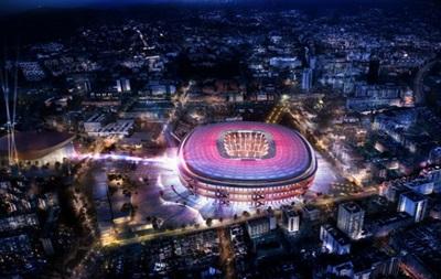 Барселона презентовала проект обновленного стадиона стоимостью 600 миллионов евро