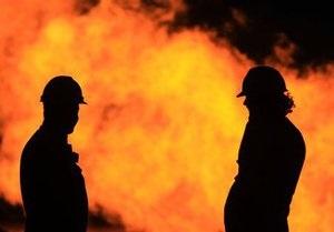 В центре Киева произошел пожар в здании СБУ