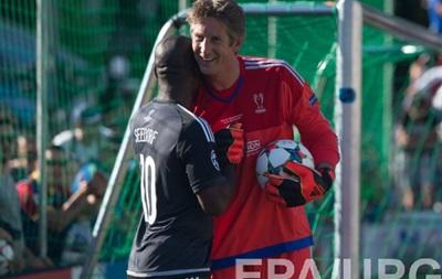 Ван дер Сар поновить кар єру заради одного матчу