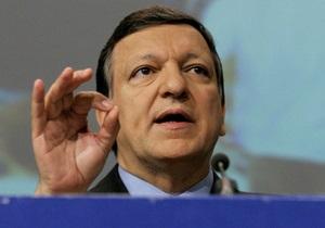 Баррозу: Украинским властям необходимо сконцентрироваться на будущем