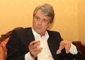 Ющенко назвал годы своего президентства лучшими в истории независимой Украины