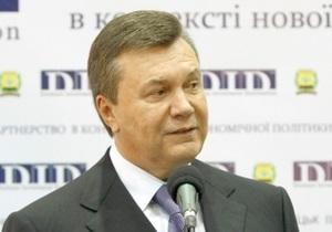 Янукович прокомментировал решение КС об отмене политреформы