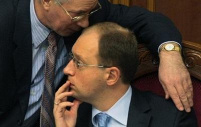 Азаров пропонує Яценюку помінятися місцями