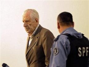 Последний диктатор Аргентины предстал перед судом