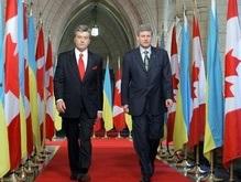 Украина намерена свободно торговать с Канадой