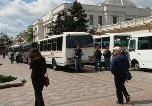 Всех задержанных милицией участников Дня гнева в Киеве отпустили