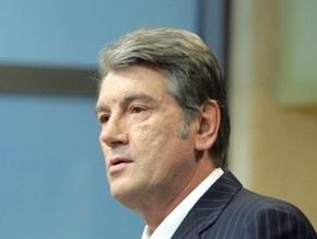 Ющенко считает ненужным заседание антикризисного круглого стола в Раде