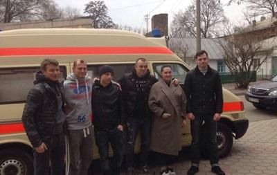 Нападающий Днепра продолжает помогать бойцам АТО