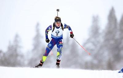 Биатлон: Француженка Мари Дорен-Абер выиграла женский масс-старт