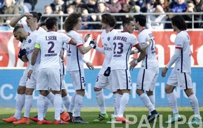 ПСЖ забивает девять голов и оформляет чемпионство