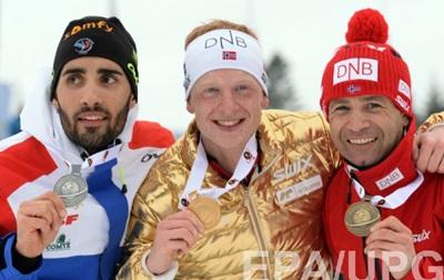 Биатлон: Йоханнес Бе побеждает в мужском масс-старте, Семенов - восьмой