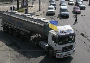 новости Киева - транспорт - дороги - грузовики - ограничение движения - В Киеве вводят ограничение для грузовиков во время жаркой погоды