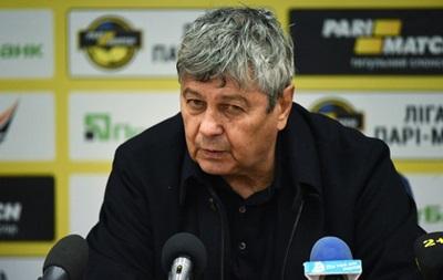 Луческу: Не понял, почему матч судил именно киевский арбитр