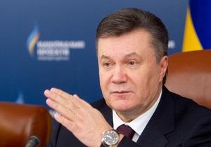 СМИ: Янукович в пятницу посетит родное Енакиево