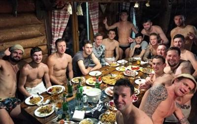 Футболисты Волыни после победы над Сталью отправились в баню