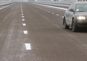 Отремонтированный за 70 млн гривен трехкилометровый участок дороги под Одессой не принят из-за низкого качества работ