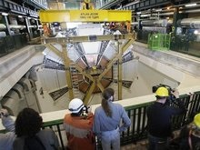 Завершена сборка самого большого в мире детектора элементарных частиц