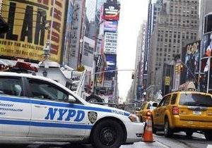 Спецслужбы США установили личность подозреваемого в попытке взрыва на Таймс-сквер