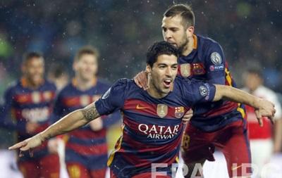 Барселона вновь сильнее Арсенала