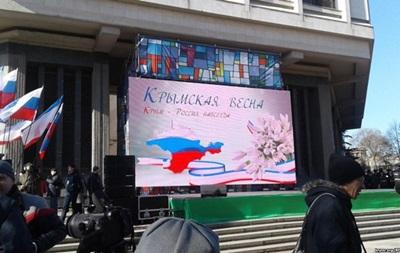 Итоги 16 марта: Годовщина в Крыму, паспорта ДНР