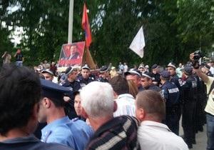 новости Одессы - драка - Фарион - Свобода - Партия Сталина - В Одессе во время визита Фарион произошла драка между активистами Свободы и Партии Сталина