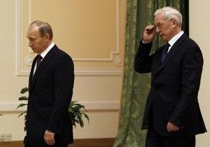 Азаров встретился с Путиным в Сочи