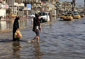 В Багдаде - крупнейшее за 30 лет наводнение, есть жертвы