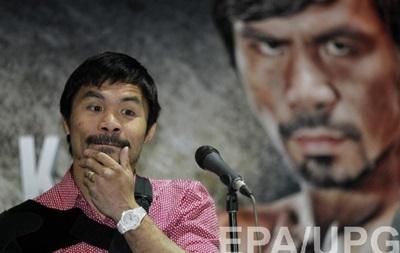 Пакьяо примет решение об уходе из бокса после боя с Брэдли