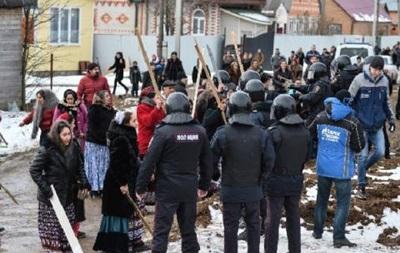 В России силовики подавляют цыганский бунт