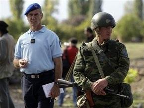 В Южной Осетии задержаны и высланы в Грузию несколько наблюдателей ОБСЕ