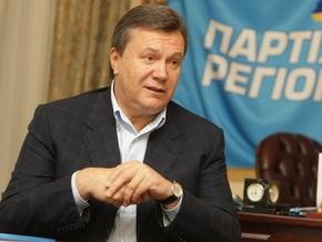 Янукович: Парламент будет заблокирован, пока не примем закон о повышении соцстандартов