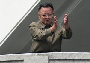 В КНДР на скале высекли гигантскую надпись в честь Ким Чен Ира