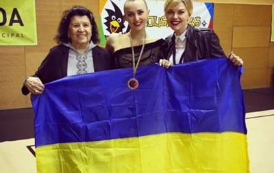 Украинка Ризатдинова завоевала  серебро  Кубка мира по гимнастике