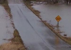 Штат Огайо погрузился под воду