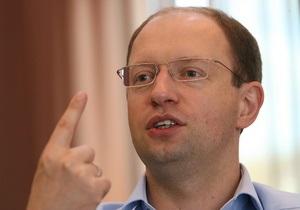 Яценюк: Мы требуем привлечь к уголовной ответственности причастных к издевательству над Тимошенко