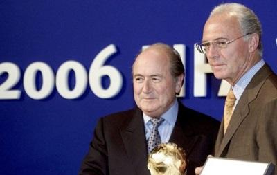 ФИФА открыла дело о получении Германией права провести ЧМ-2006