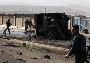 Талибан взял ответственность за нападение на конвой НАТО