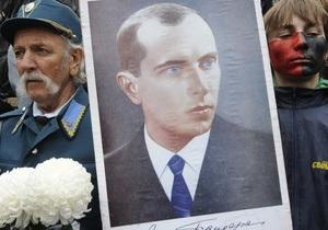 Черновицкий облсовет напомнил Европарламенту о заключении Бандеры в Заксенхаузене